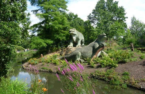 Under new management: Jurassic Park has existed in south London for more than a century