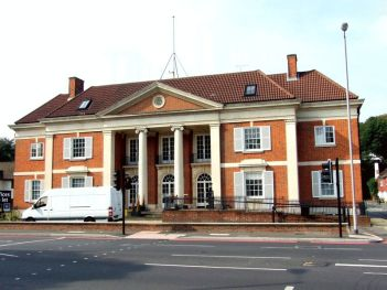 The old Town Hall Purley: developers want to increase the number of flats on the site by 25 per cent