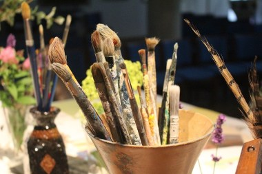 paint brushes Cicely Mary Barker