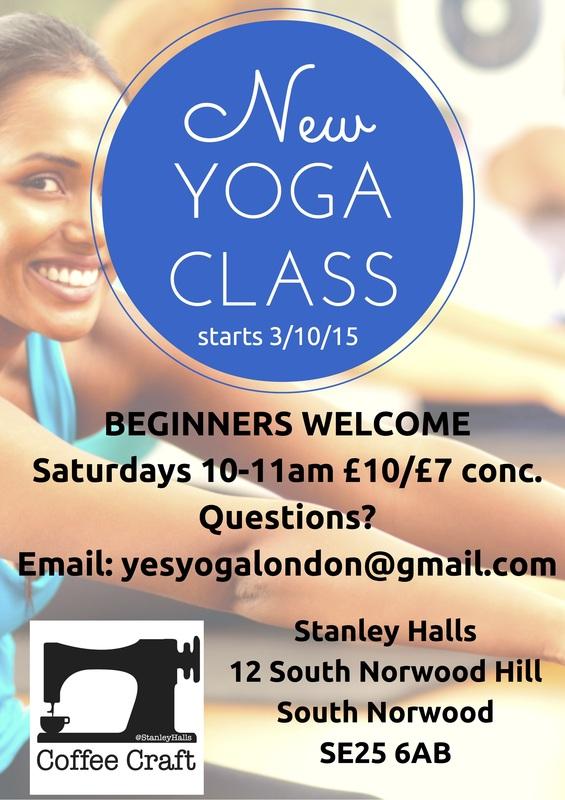 Stanley Halls yoga classes