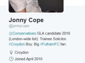 Cope profile