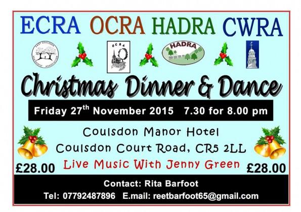 Coulsdon RAs dinner and dance