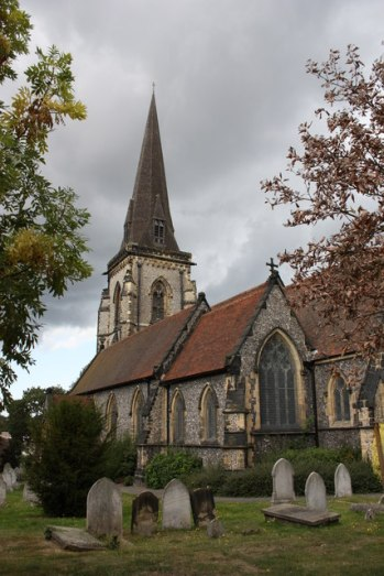 Landmark: St Peter's in South Croydon has found an unusual method of fund-raising