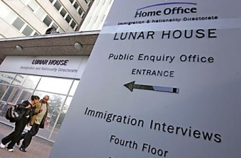 Croydon is a 'Gateway' authority as arrivals report to Lunar House