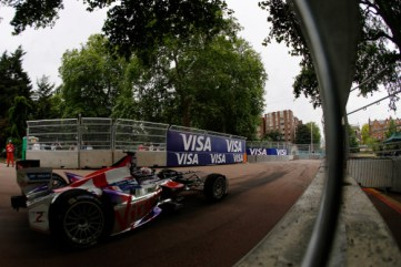 The Formula E action in Battersea Park this year. Might they be heading to Crystal Palace in future?