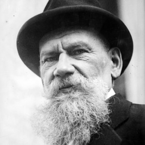 Leo Tolstoy: he generously gave up his UK rights for causes in Croydon