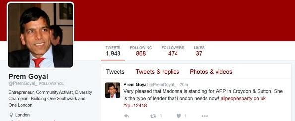 Madonna tweet