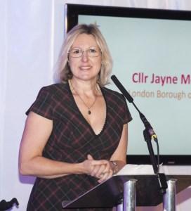 Sutton councillor Jayne McCoy: