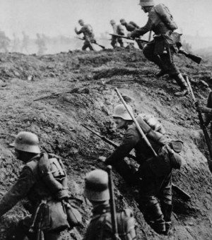 The Battle of Verdun lasted from February to December in 1916, and is featured in the exhibit