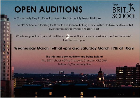 Audition info