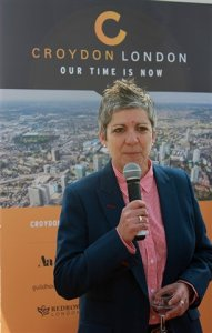 Jo Negrini: presides over a council which cannot provide office space for her staff