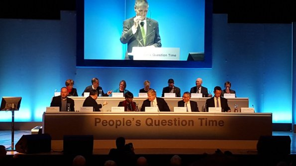 People's Question Time helped raise the profile of the usually subterranean Steve O'Connell