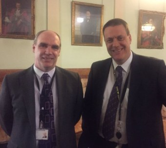 "Jason Cummings, Croydon Toris' new deputy leader, with his boss, Tim Pollard: ""They'd make an accountants' convention seem dynamic"""