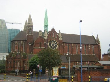Under threat: council planning officers are concerned about the impact of the Hammersfield proposals on buildings such as St Michael and All Angels