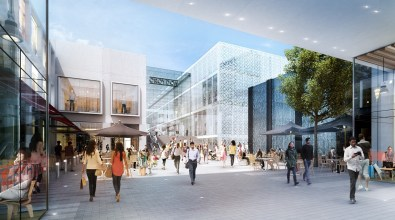 An artist's representation of how the new shopping centre may, or may not, look