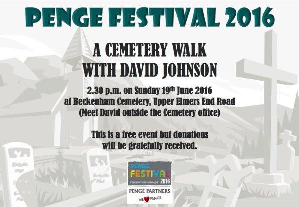 Beckenham Cemetery walk
