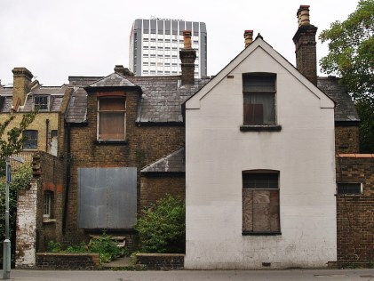 Across London, there's an estimated £12bn-worth of property standing vacant, often derelict