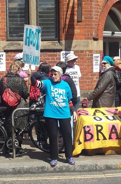 Library campaigners are unimpressed with Lambeth Council's 11th-hour change of plan