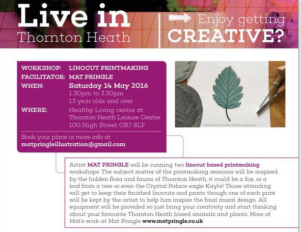 Thornton Heath art project 3