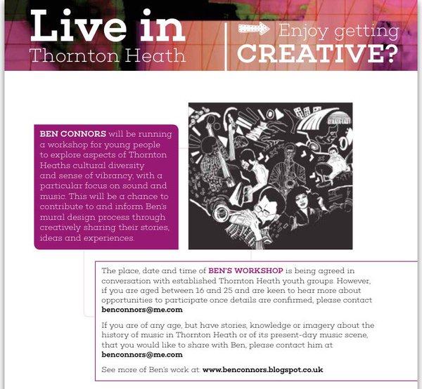 Thornton Heath art project 4