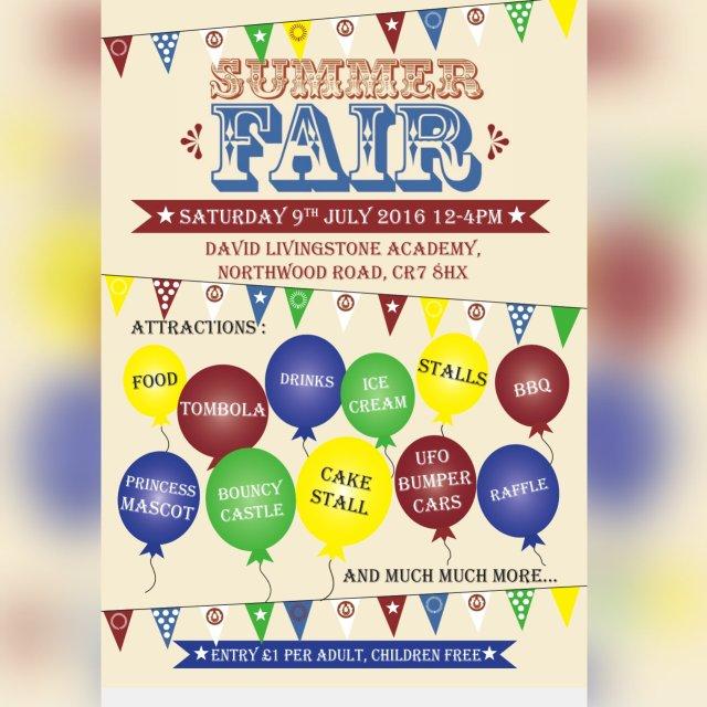 David Livingstone summer fair