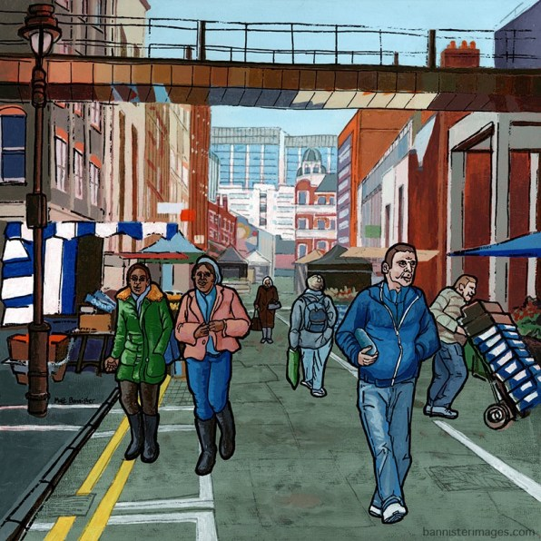 Surrey Street painting