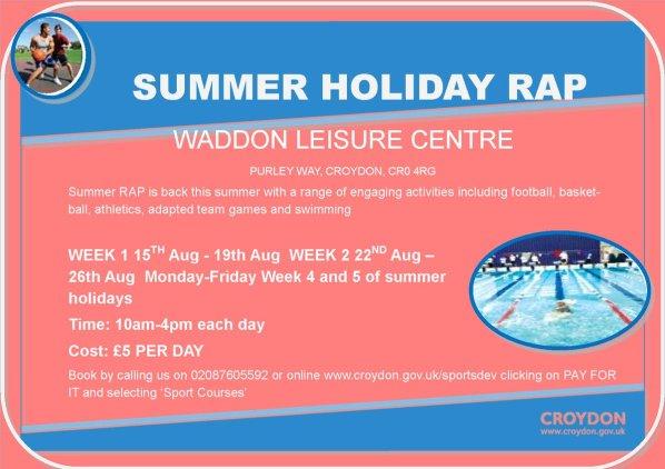 Waddon Leisure Centre RAP
