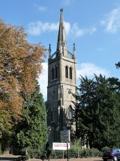 Steeple chase: All Saints, Beulah Hill is the starting point for the Norwood Society's guided walk