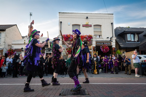A summer evening, real ales and Morris dancers. What's not to like?