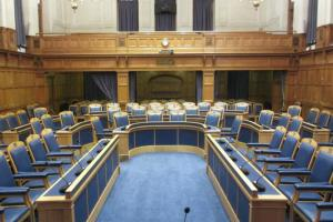 From theatre of the absurd, to new theatre: Croydon's council chamber