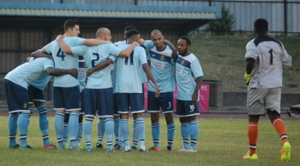 Togetherness: Croydon FC's team work has taken them to the top of their league this season. Photo by The Beautiful Game