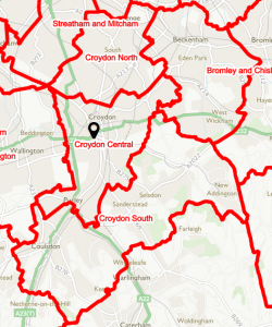 This is how the Boundary Commission has redrawn the political map of Croydon