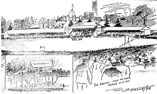 In 1896, coverage of the FA Cup final