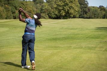 Farleigh golf course man drive