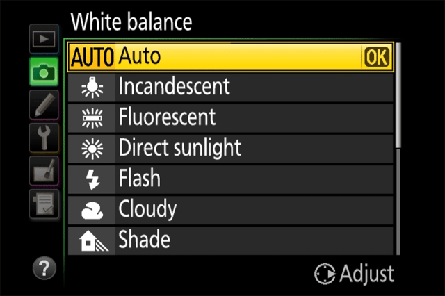 Setting White Balance, Photography Tips for DSLR