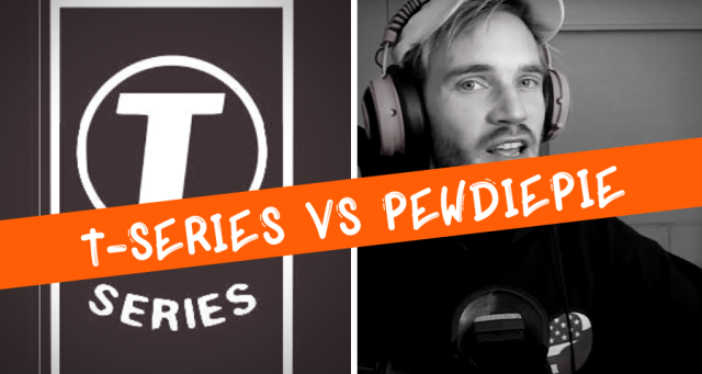 T-Series vs Pewdiepie fight,100 million subscribers