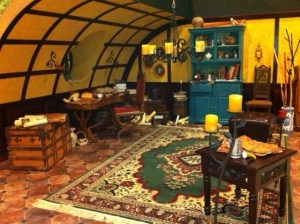 "One of EWTN's beautiful ""Hobbit"" sets!"