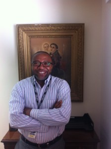 George Wirnkar, EWTN's Regional Manager in Africa.