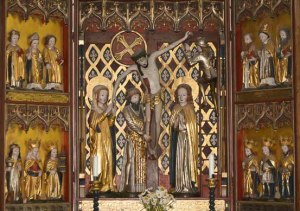 Sweden Njutanger, Halsingland altar