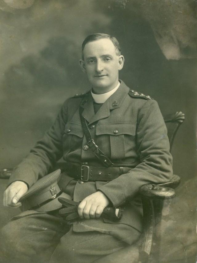 fr willie doyle uniform