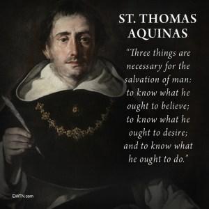 January 28 Thomas Aquinas (2)