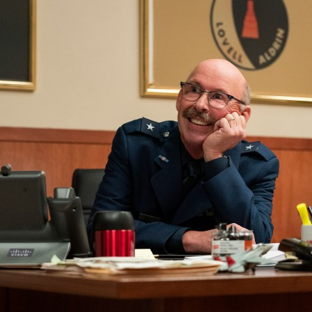 """Don Lake as Brad Gregory in """"Space Force."""" (Photo courtesy of Netflix)"""