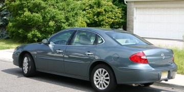 Rental car Buick LaCrosse CX6