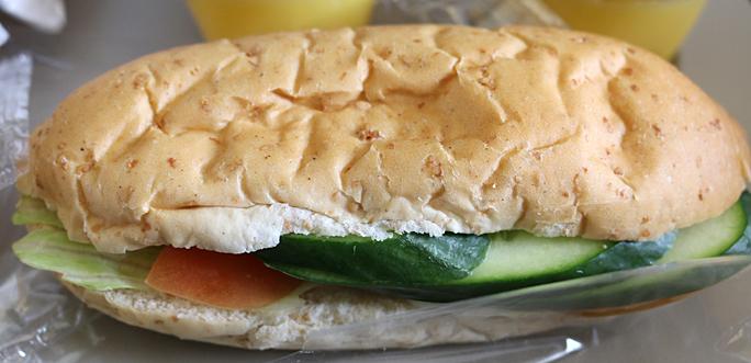 Gulf Air A320-200 Vegetarian Meal