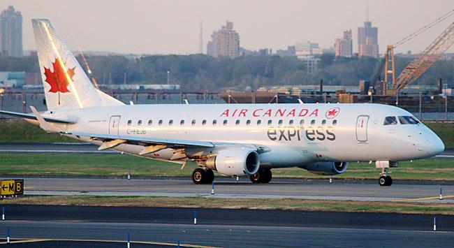 Air Canada Express Airplane