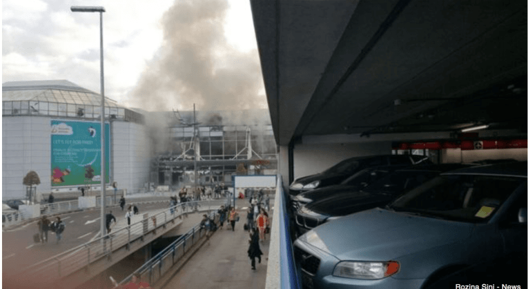 Brussels Airport Explosion