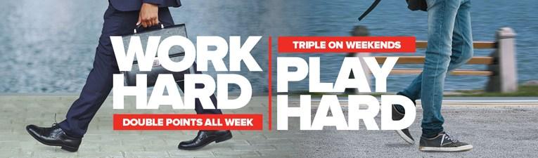 Work Hard, Play Hard promotion 2016