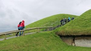 Knowth passage tombs Ireland