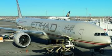 Etihad Airways Boeing 777-300 aircraft