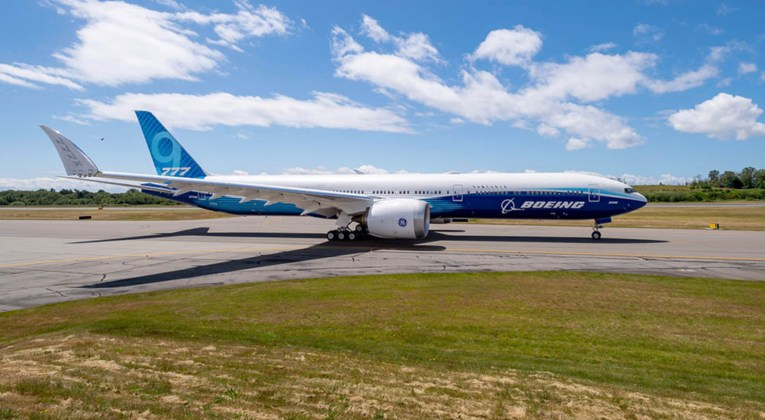 Boeing's newest aircraft type, the B777X (Source: Boeing)